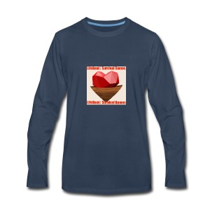 LifeBoat Custom Logo - Men's Premium Long Sleeve T-Shirt