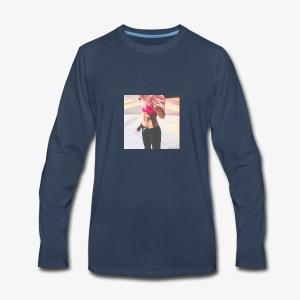 Fitness Model - Men's Premium Long Sleeve T-Shirt