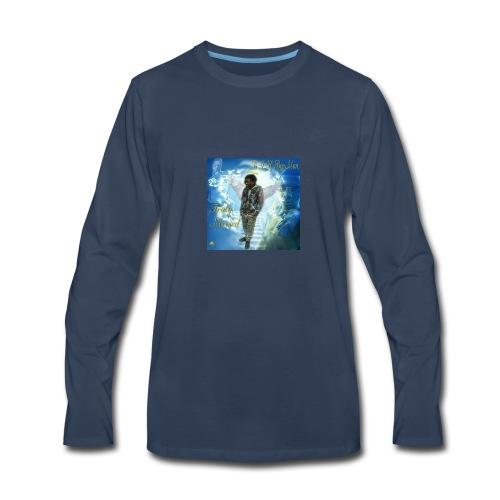 Rest Easy BooMan - Men's Premium Long Sleeve T-Shirt