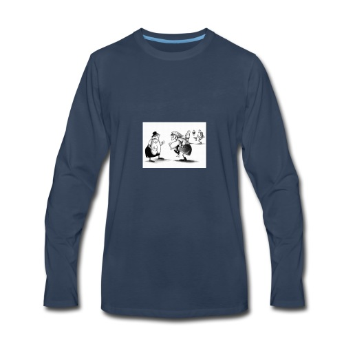 Give me a pass and I'll score - Men's Premium Long Sleeve T-Shirt