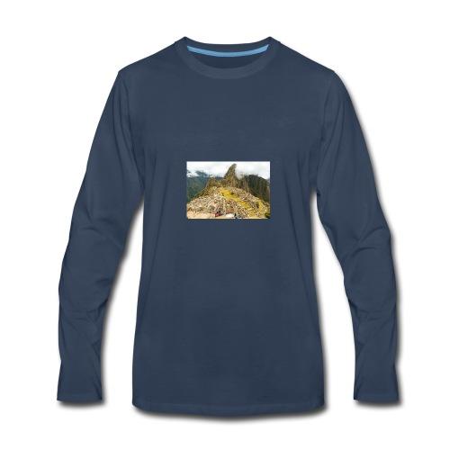 Machu Picchu, Peru - Men's Premium Long Sleeve T-Shirt