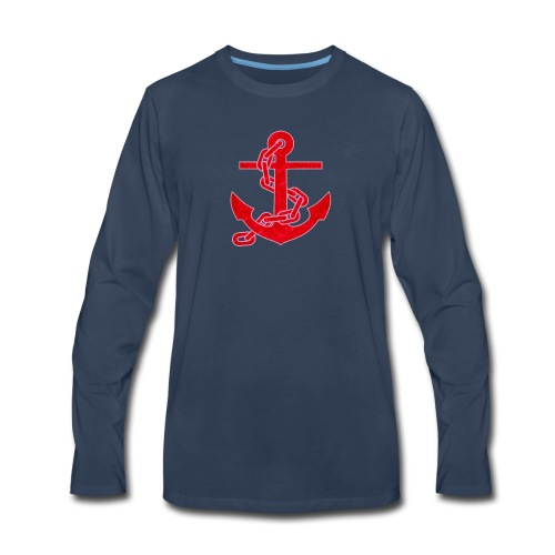 Anchor - Men's Premium Long Sleeve T-Shirt