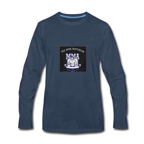 THE MMA Historian - Men's Premium Long Sleeve T-Shirt