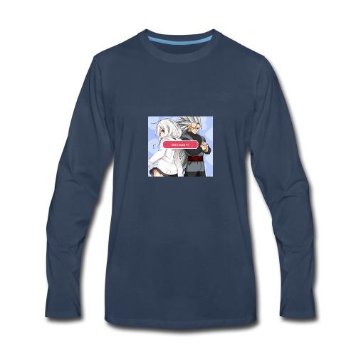 EnD x AnnA YT Official Logo #4 - Men's Premium Long Sleeve T-Shirt