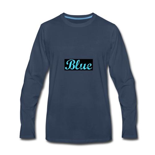 Blue - Men's Premium Long Sleeve T-Shirt