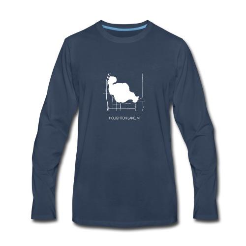 Houghton Lake, MI - Men's Premium Long Sleeve T-Shirt