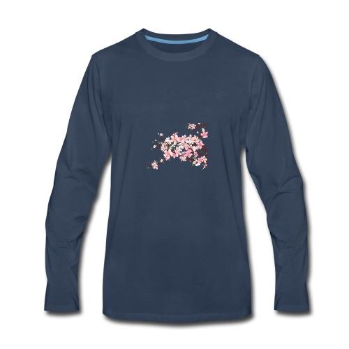 Blossoms - Men's Premium Long Sleeve T-Shirt