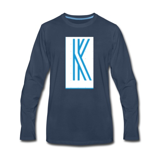 The K design - Men's Premium Long Sleeve T-Shirt
