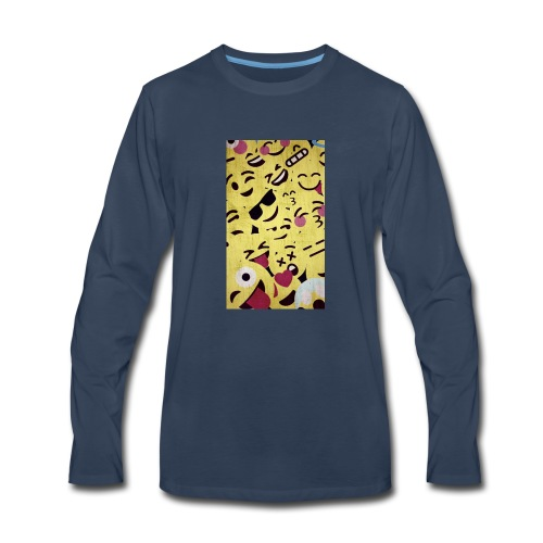 gumball design - Men's Premium Long Sleeve T-Shirt