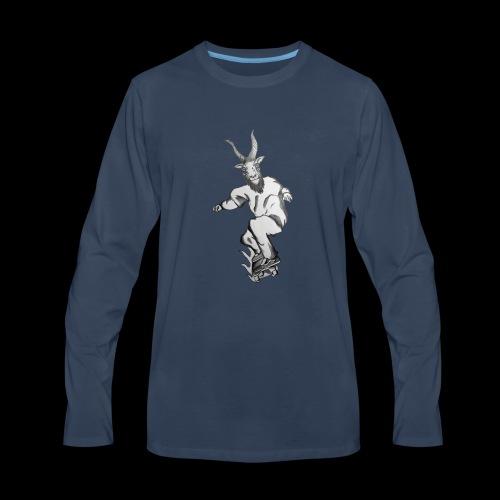 SKATEGOATT2 - Men's Premium Long Sleeve T-Shirt