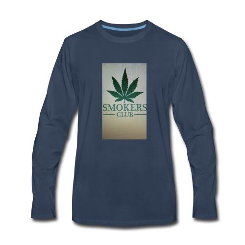 Smokers club - Men's Premium Long Sleeve T-Shirt