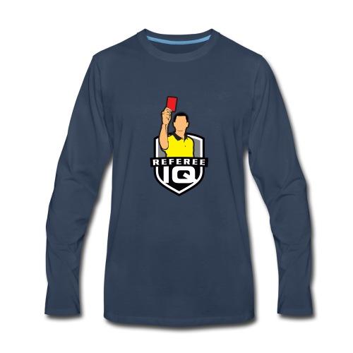 RefereeIQ Official Logo - Men's Premium Long Sleeve T-Shirt