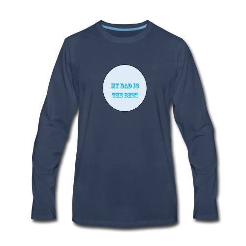 best dad - Men's Premium Long Sleeve T-Shirt