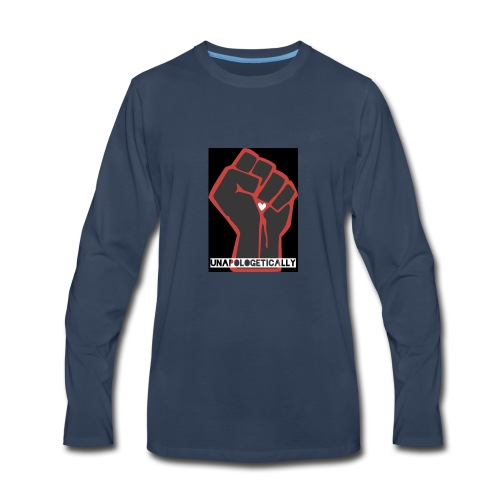 black fist - Men's Premium Long Sleeve T-Shirt