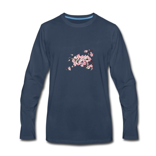 Blossoms - Men's Premium Long Sleeve T-Shirt