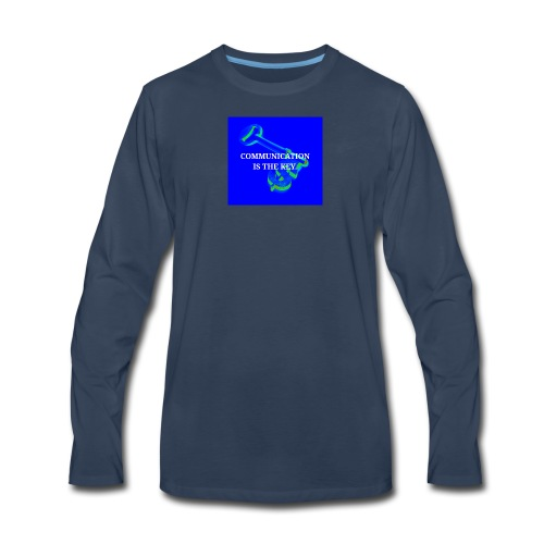 Communication - Men's Premium Long Sleeve T-Shirt