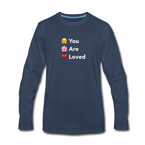 You Are Loved - Men's Premium Long Sleeve T-Shirt