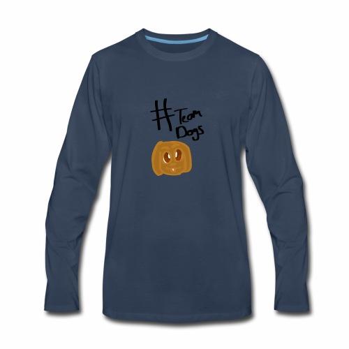#Team Dog - Men's Premium Long Sleeve T-Shirt