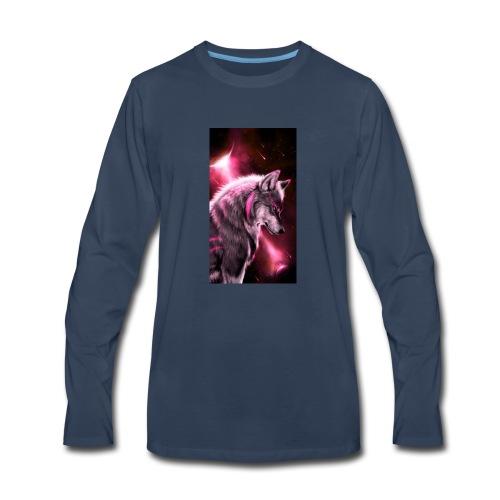 Wolf bc73ed93 1aed 4cae bd5e 3b164b18646e - Men's Premium Long Sleeve T-Shirt