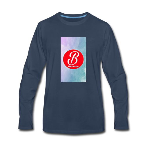 Bursona Records Merch - Men's Premium Long Sleeve T-Shirt