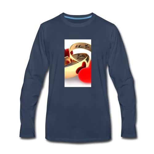Forever Love - Men's Premium Long Sleeve T-Shirt