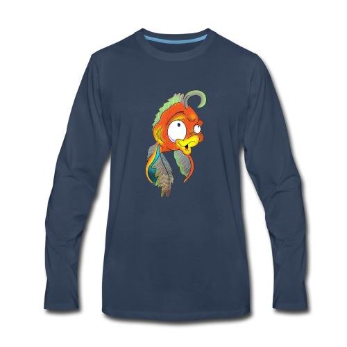 Cora Icon Mascot - Men's Premium Long Sleeve T-Shirt
