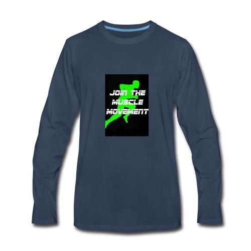 muscle movement - Men's Premium Long Sleeve T-Shirt