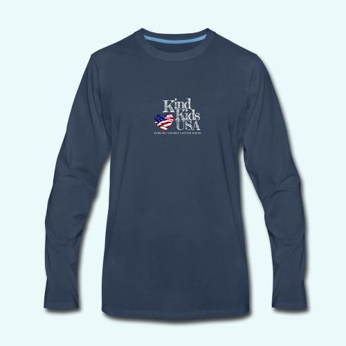 Kind Kids USA - Men's Premium Long Sleeve T-Shirt