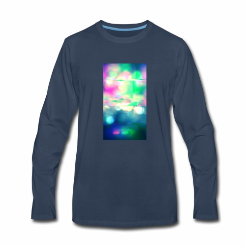 Glitchy Photography - Men's Premium Long Sleeve T-Shirt