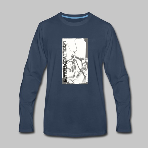oskull pedalrat designed by goolzvodtiques - Men's Premium Long Sleeve T-Shirt