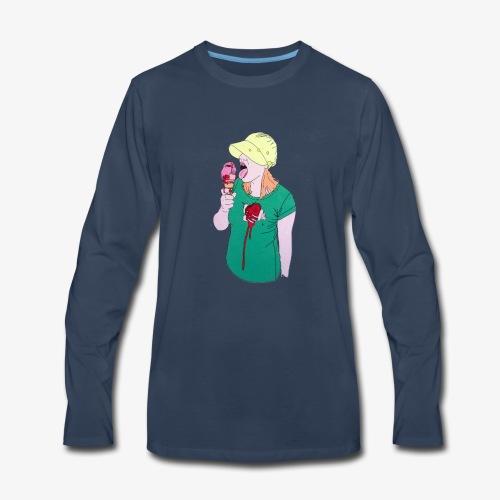 Berlin Girl - Men's Premium Long Sleeve T-Shirt