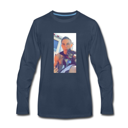 chillin with the bo bo - Men's Premium Long Sleeve T-Shirt
