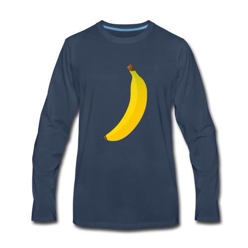 banana - Men's Premium Long Sleeve T-Shirt