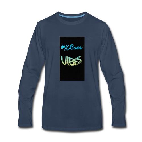 #Kbaes Vibes - Men's Premium Long Sleeve T-Shirt