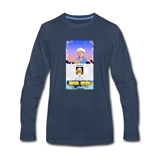 Akinator Jeffy - Men's Premium Long Sleeve T-Shirt