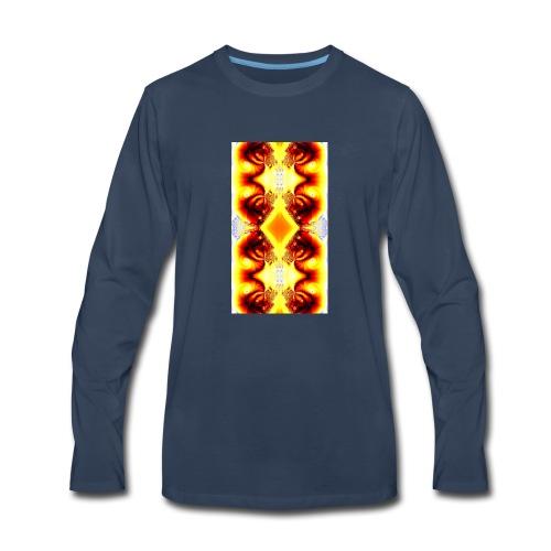 beautiful print - Men's Premium Long Sleeve T-Shirt