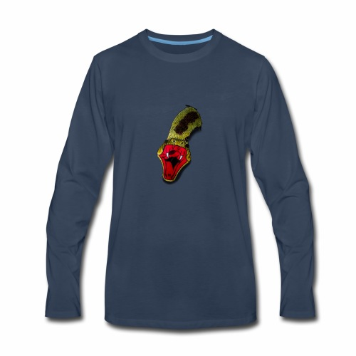 Venom from the heart - Men's Premium Long Sleeve T-Shirt