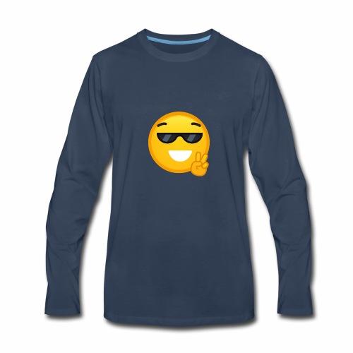I am cool - Men's Premium Long Sleeve T-Shirt