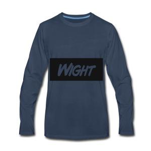 Wight LOGO - Men's Premium Long Sleeve T-Shirt