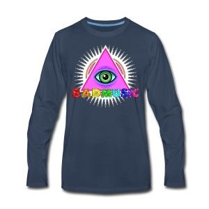 Illuminati BadMusic - Men's Premium Long Sleeve T-Shirt