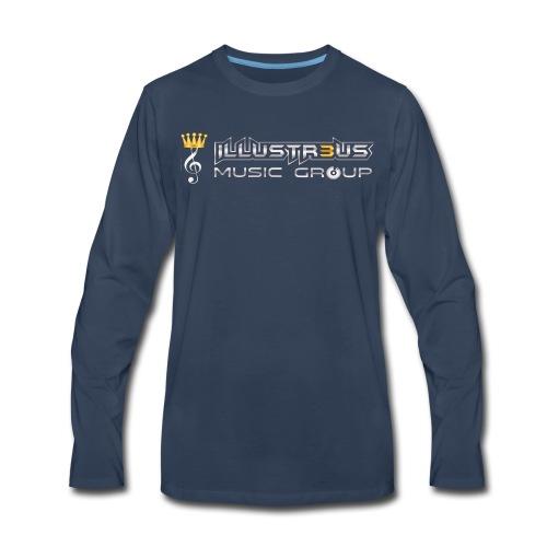 ILLUSTR3US MUSIC GROUP - Men's Premium Long Sleeve T-Shirt