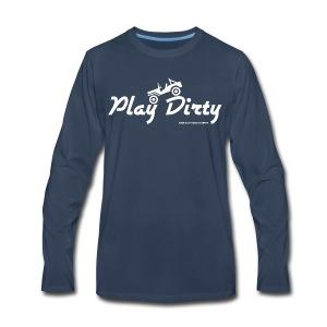 Classic Barlow Adventures Play Dirty Jeep - Men's Premium Long Sleeve T-Shirt