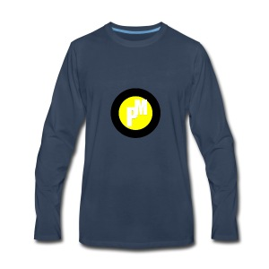 M3ga Merch Yellow - Men's Premium Long Sleeve T-Shirt