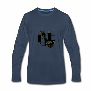 Love Black and Camouflage - Men's Premium Long Sleeve T-Shirt