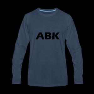ABK Black - Men's Premium Long Sleeve T-Shirt