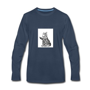 cats - Men's Premium Long Sleeve T-Shirt