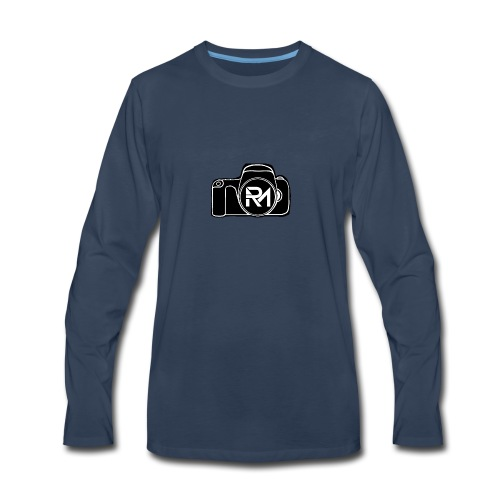 Raven Media - Men's Premium Long Sleeve T-Shirt