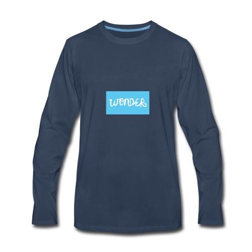 THE WONDER MOVEMENT - Men's Premium Long Sleeve T-Shirt