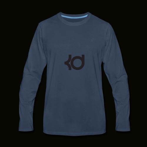 basket ball kevin #35 787658765875876667632 - Men's Premium Long Sleeve T-Shirt