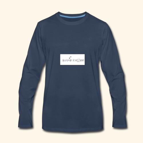 OPPIE COFFEE - Men's Premium Long Sleeve T-Shirt